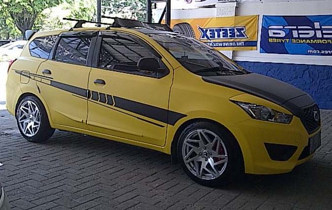 25 modifikasi datsun go panca hatchback go plus otodrift for Motor city performance plus