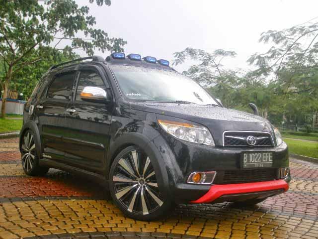 20 Modifikasi Toyota Rush Daihatsu Terios Terbaru Otodrift