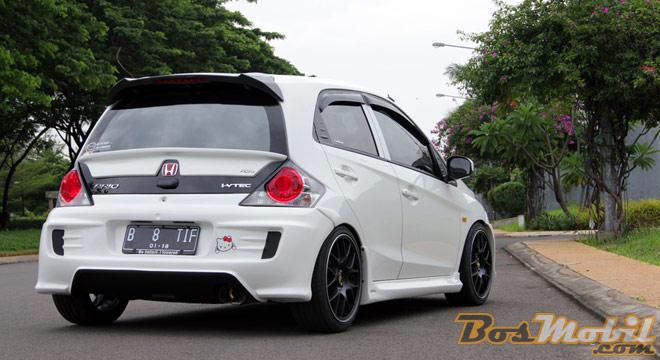 41 Modifikasi Mobil Brio Satya Putih HD Terbaru